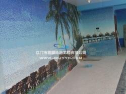 龙溪新城空中室内恒温游泳池