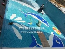 台山枫情商城小区泳池
