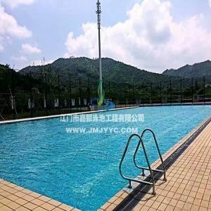 黑龙江鹅岗市武警中队室外恒温泳池