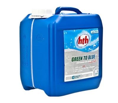 清水清绿变蓝冲击性处理剂