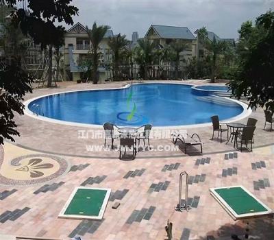 华茵堡私人别墅游泳池