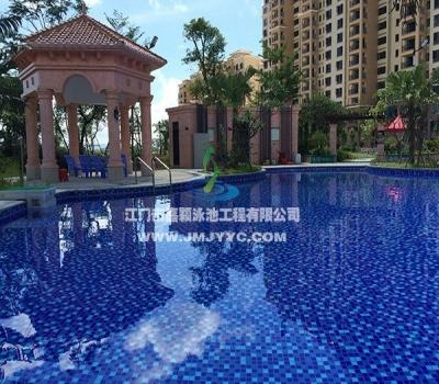 台山广海新城小区泳池