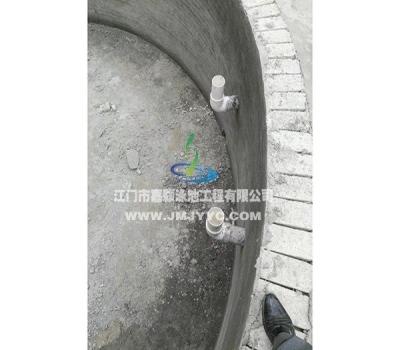 台山广海新城小区园林游泳池
