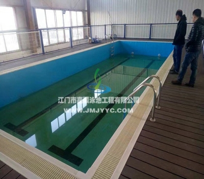 山西太原拆装式室内恒温泳池